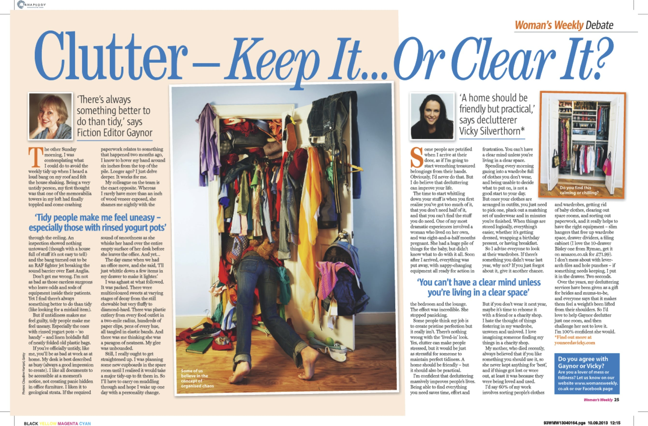 Clutter debate (1 Oct)