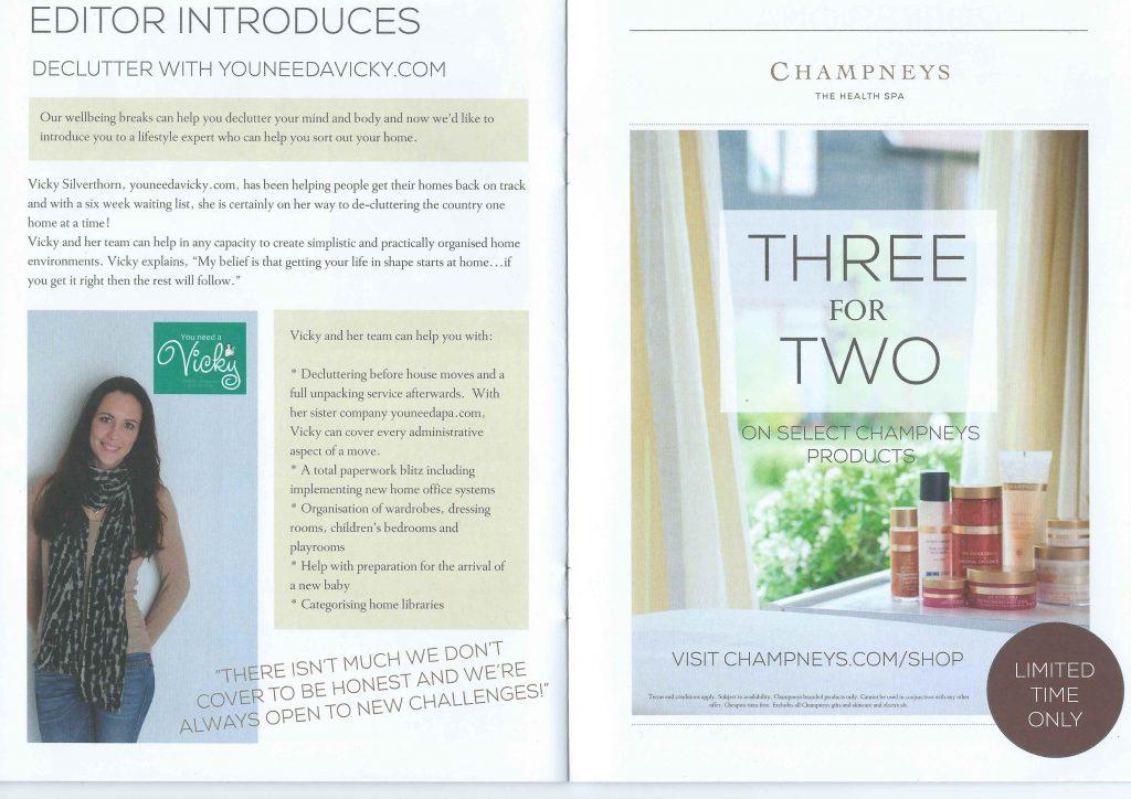Champneys Brochure Article