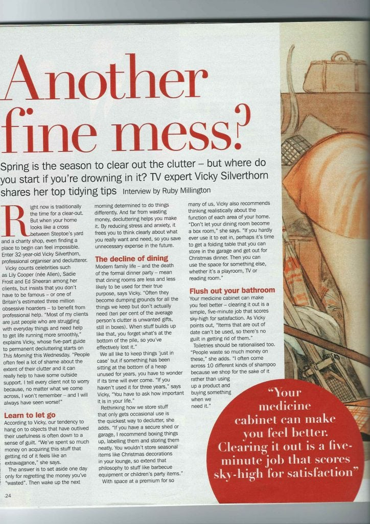 Sunday Express Magazine February 2013 Article Another Fine Mess Page 1