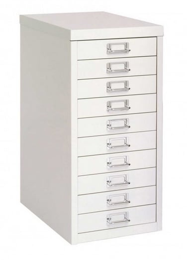 Bisley Desktop Cabinet 10 Drawer