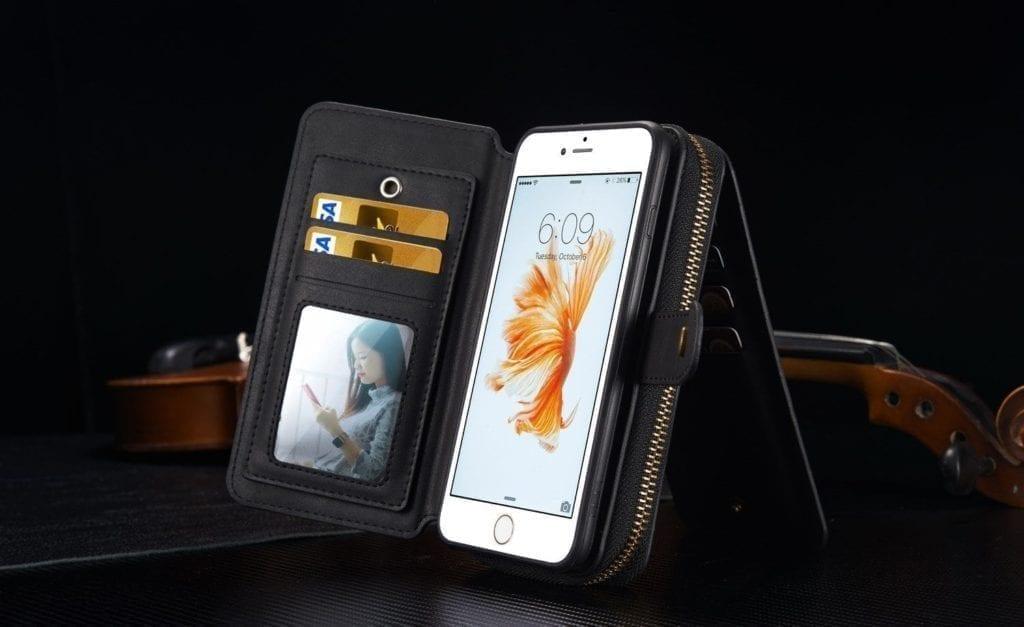 iPhone 7 Detachable Wallet Case
