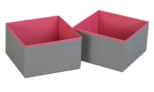 The Holding Company Drawer Divider Organiser – Set of 2 Small