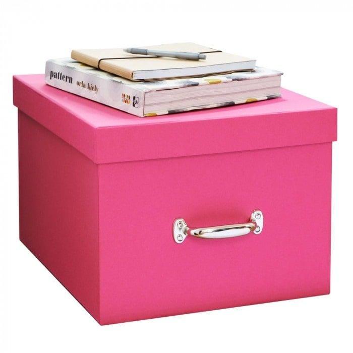 The Holding Company Fibreboard Storage Box