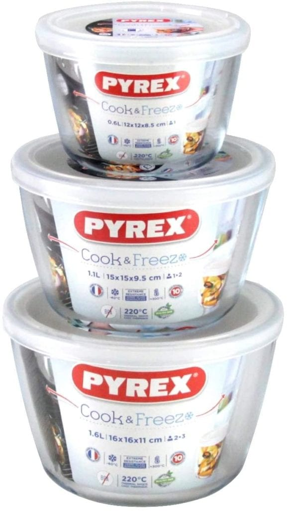 Pyrex Cook & Freeze Dishes – Set Of 3